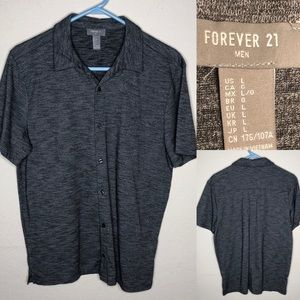 Forever 21 soft button down shirt